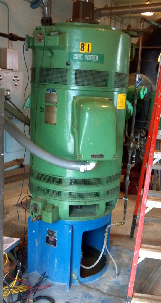 Vertical Pump Balancing, MA