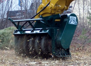 On Site Mulcher Balancing