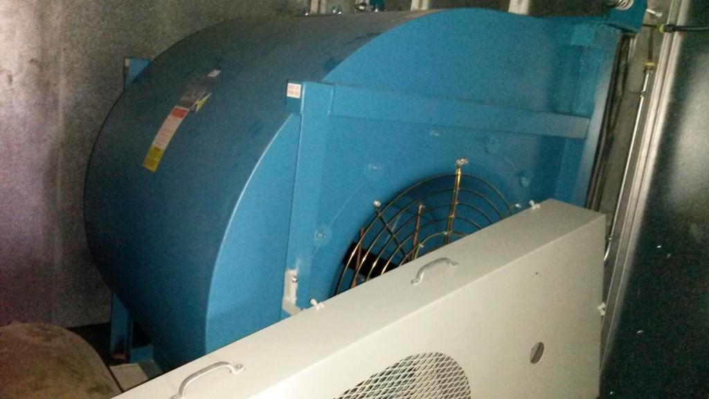 Supply Fan Vibration Analysis, MA