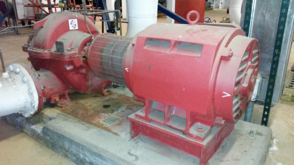 Chill Water Pump Alignment, MA