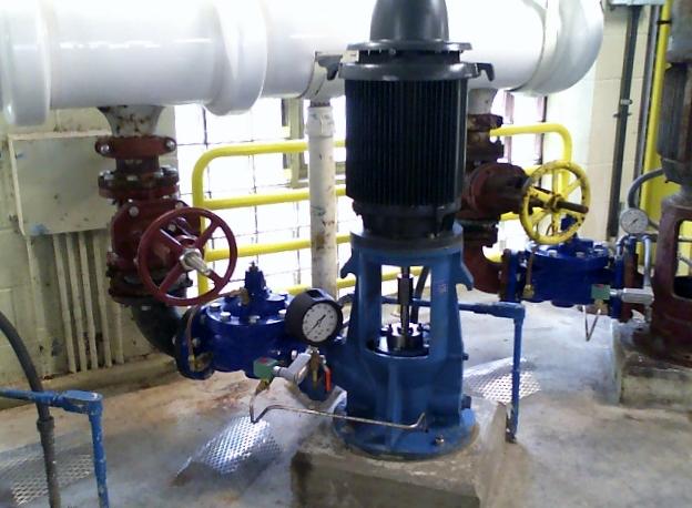 Vibration Analysis Pump, MA